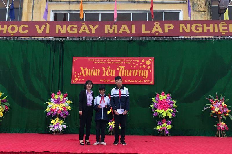 Học sinh trường THCS Phan Thiết