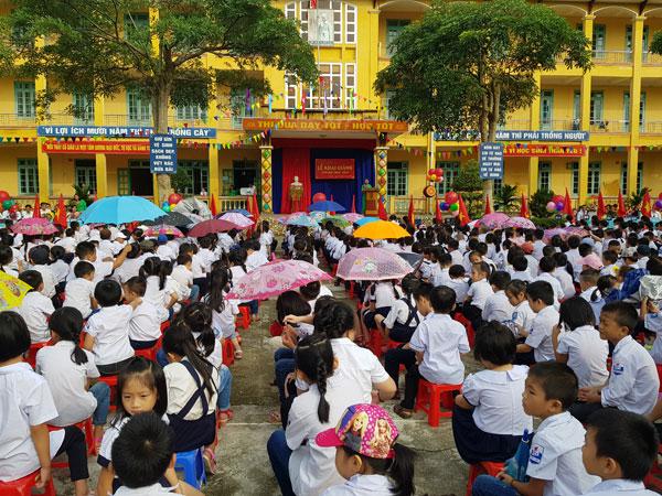 Lễ khai giảng năm học mới của Thầy và trò nhà trường