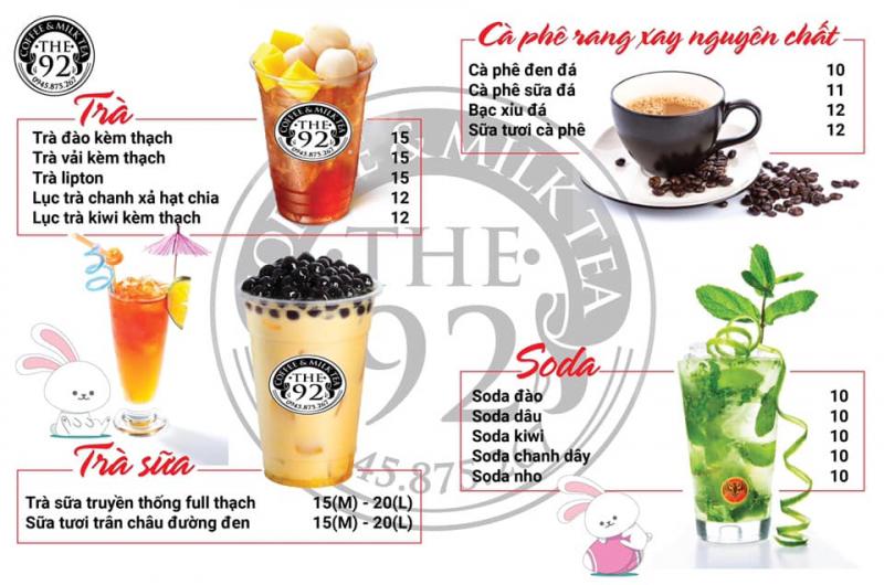The 92 Milk Tea