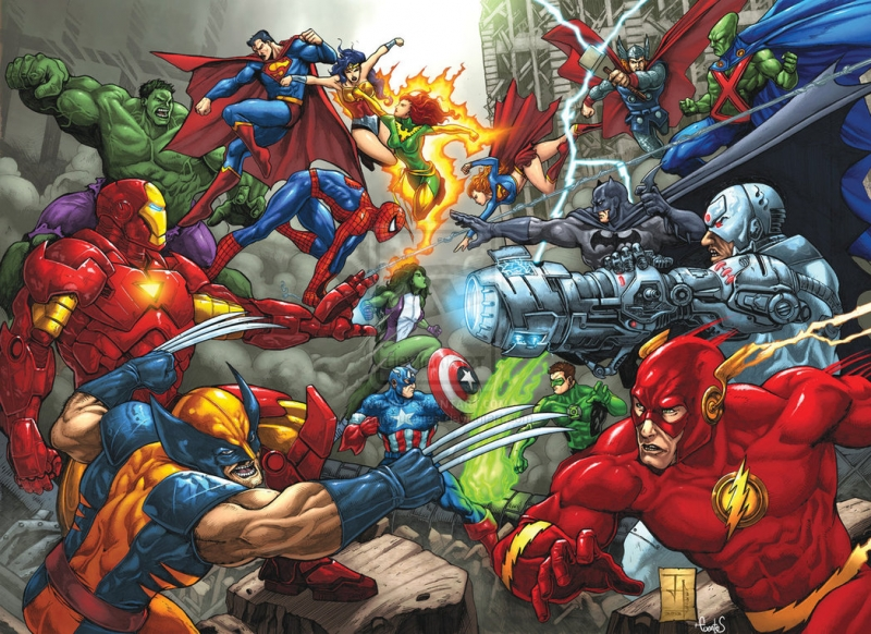The Avengers – Justice League