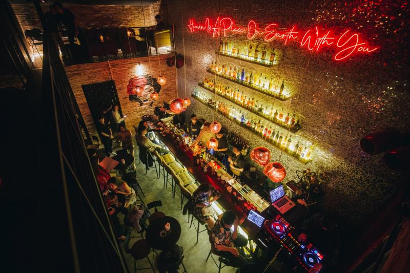 The Balcony Speakeasy bar
