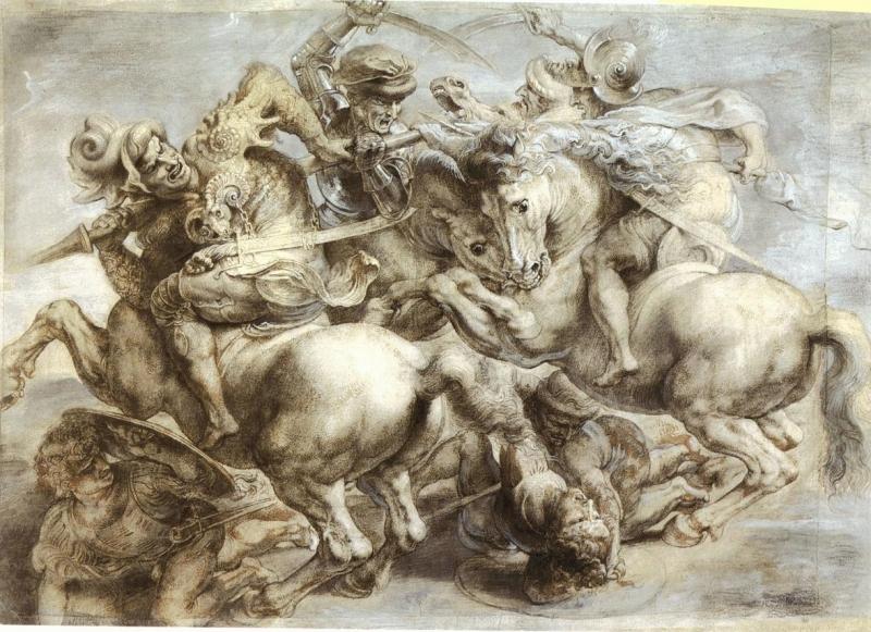 the battle of anghiari (1505)