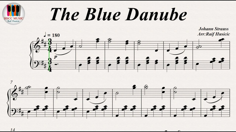 The Blue Danube - Johann Strauss II
