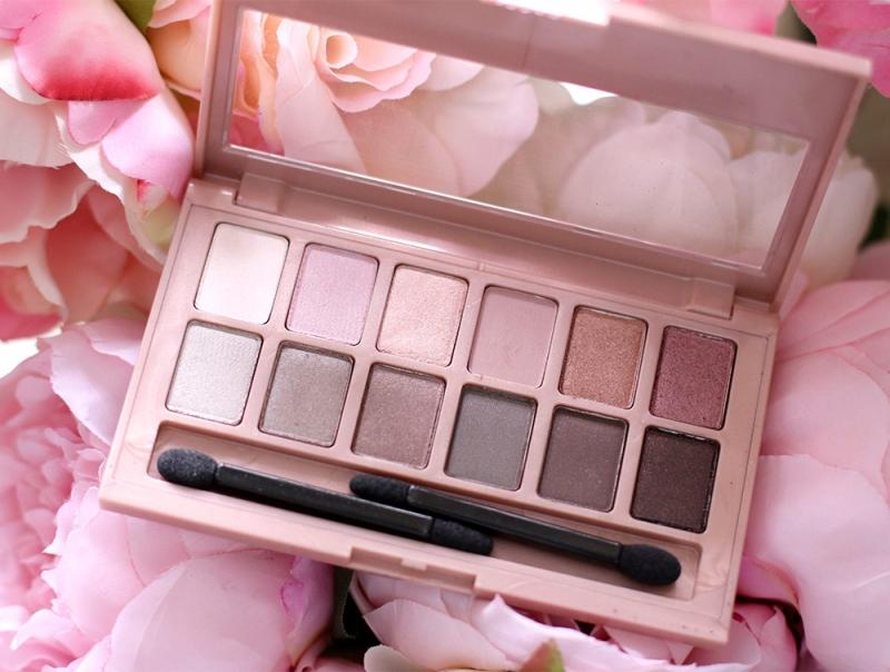 Bảng phấn mắt The Blushed Nudes Palette - Maybelline
