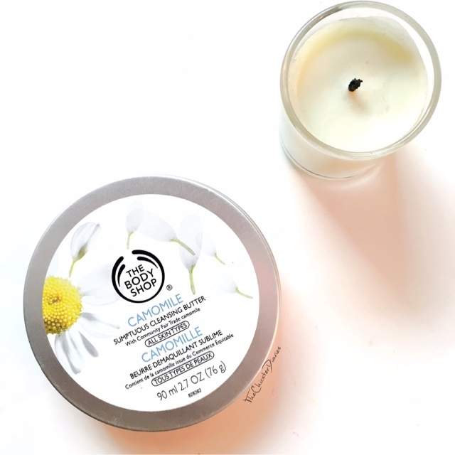 The Body Shop Camomile Cleansing balm