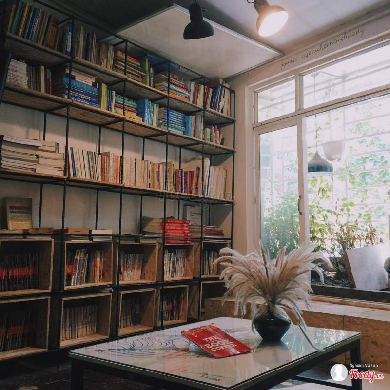 The Book Coffee là nơi phù hợp nhất với những bạn mong muốn thoát khỏi thực tại.