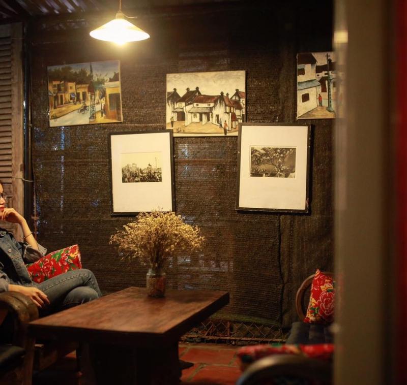 Một góc nhỏ rất đẹp tại The Booklink Café