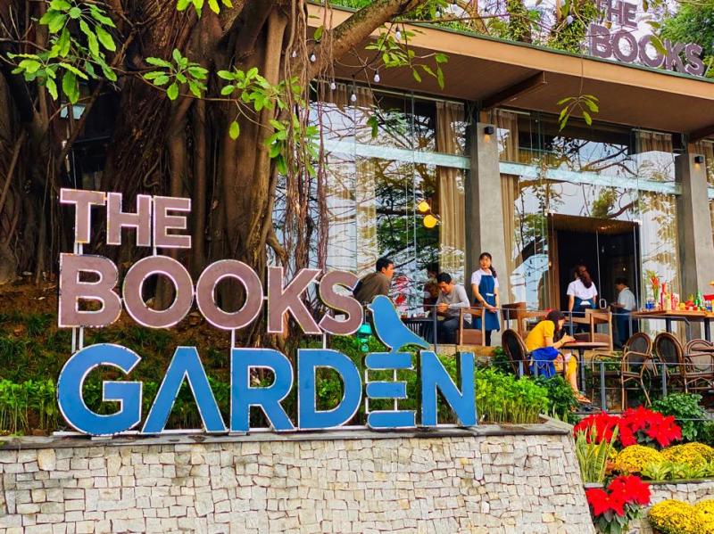 The Books Garden Cafe