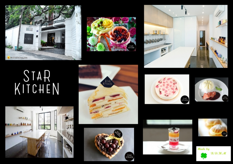 Một số hình ảnh về The Cafe - Star Kitchen - Nguồn: Sưu tầm