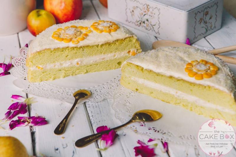 Bánh kem bắp - The Cake Box