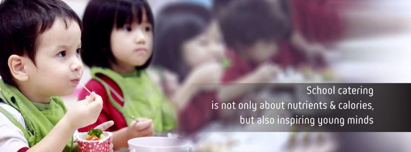The Caterers chú trọng xây dựng chế độ dinh dưỡng cân bằng và lành mạnh để phù hợp với độ tuổi phát triển trí tuệ và thể lực của các em học sinh
