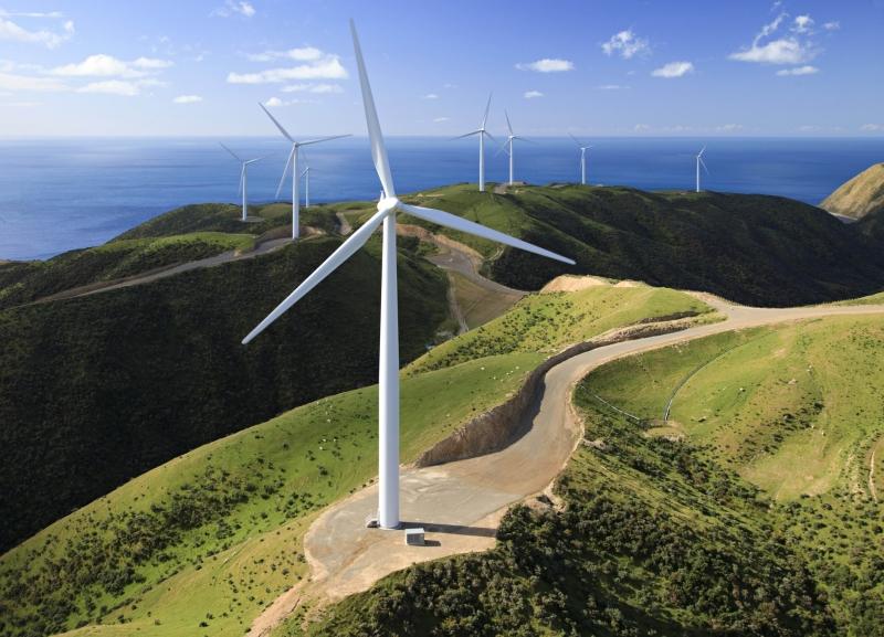 Thành phố sử dụng năng lượng gió
