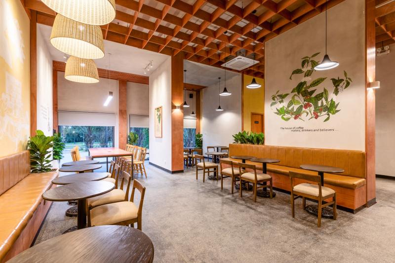 Không gian của The Coffee House