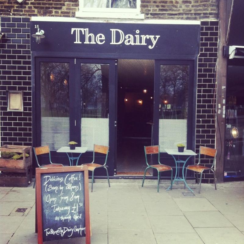 The Dairy thu hút nhiều thực khách nhờ không gian mở rất thân thiện