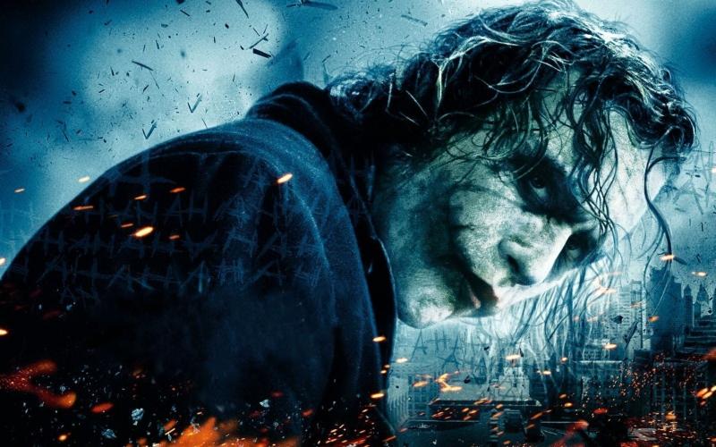 Nhân vật phản diện nổi tiếng Joker trong The Dark Knight