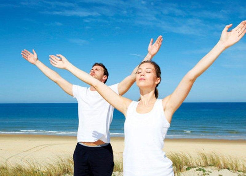 Chỉ nên tập vừa sức, phải luôn cảm thấy thoải mái, khỏe khoắn với cách vận động của mình.