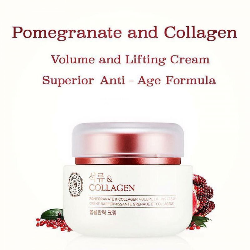 The Face Shop Pomegranate And Collagen Volume Lifting Series