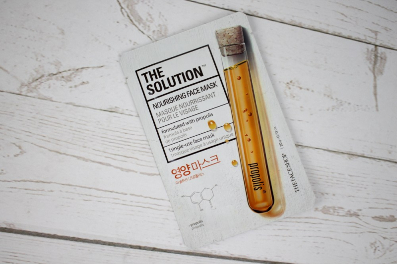 Thefaceshop The Solution Nourishing Face Mask 20ml