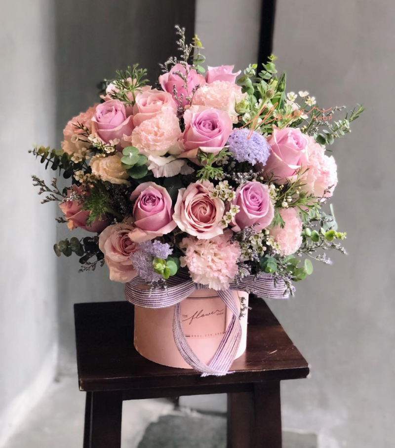 The Flower Shop - Tiệm Hoa Tươi
