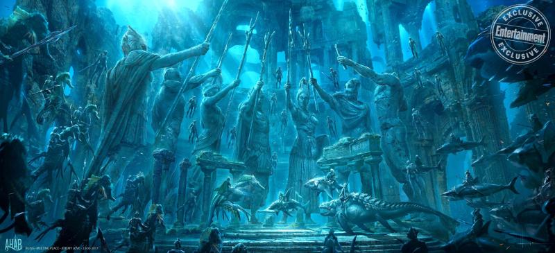 Thế giới Atlantis được so sánh với Asgard và Themyscira