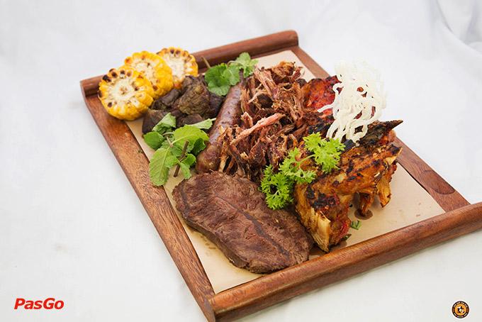 Món ăn tại quán Bia Kun