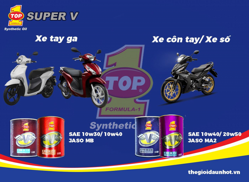 Top 8 công ty cung cấp dầu nhớt xe máy uy tín nhất Hà Nội