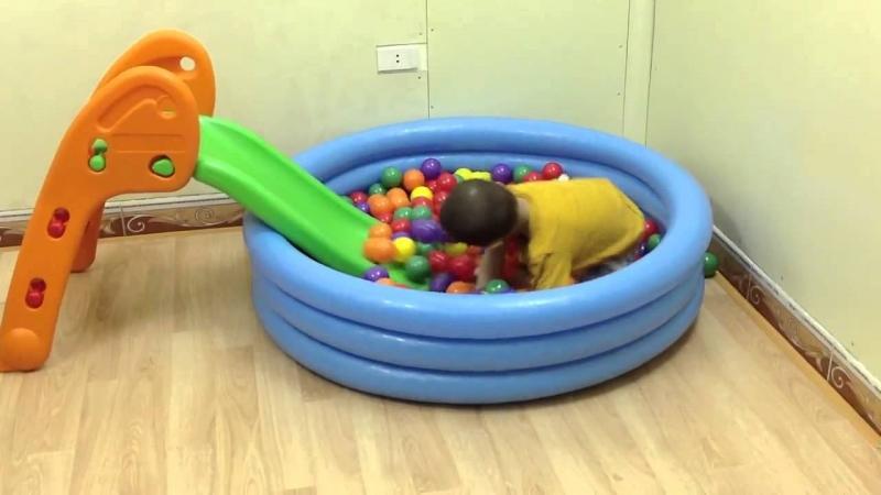 Cầu trượt mini -babycuatoi