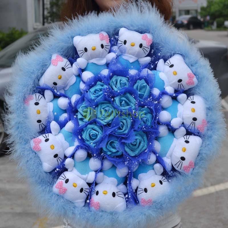Bó hoa gấu bông cực đẹp