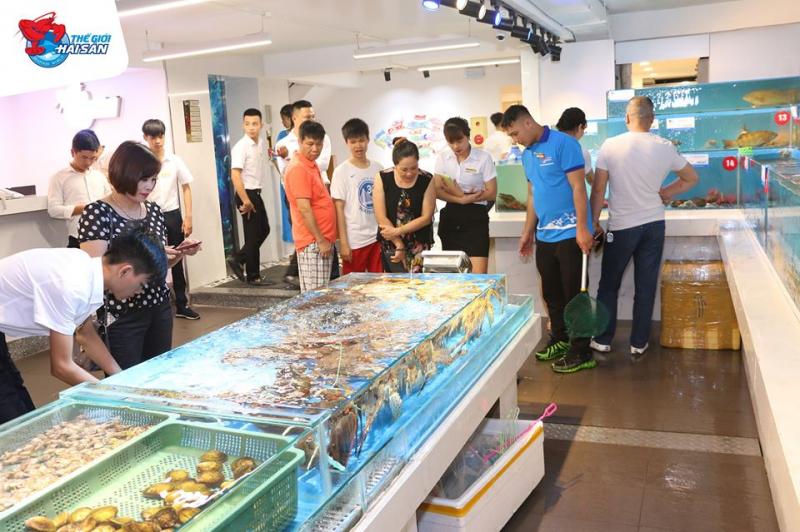 Nhà hàng Siêu thị Thế giới Hải sản
