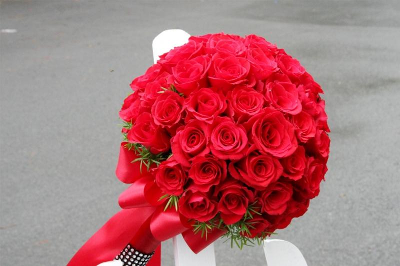 Hoa hồng thể hiện cho tình yêu lãng mạn, nồng thắm