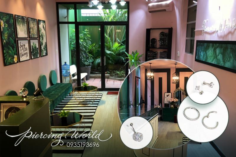 Piercing World – Cơ sở xỏ khuyên chuyên nghiệp tại Sài Gòn