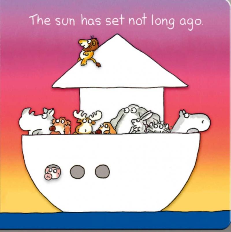 Các con thú trên con tàu hướng ra đại dương.