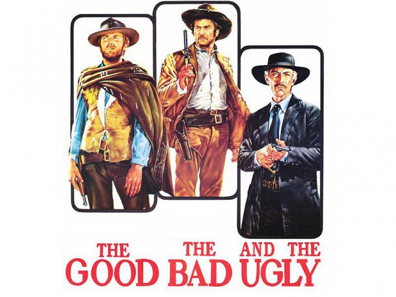 Poster phim The Good, the Bad and the Ugly