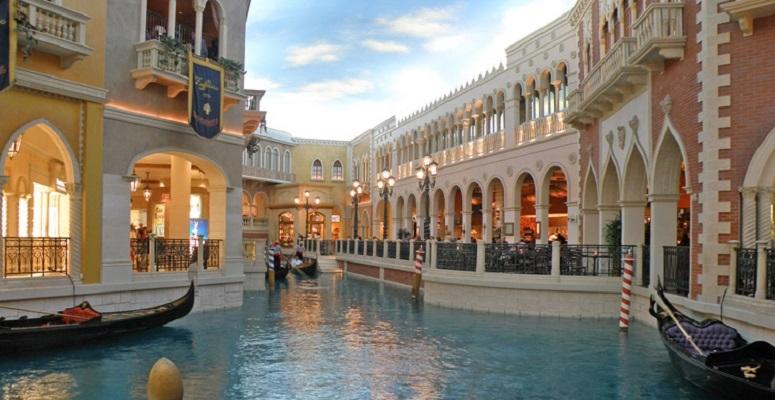 Trung tâm thương mại The Grand Canal Shoppes – Las Vegas, Mỹ