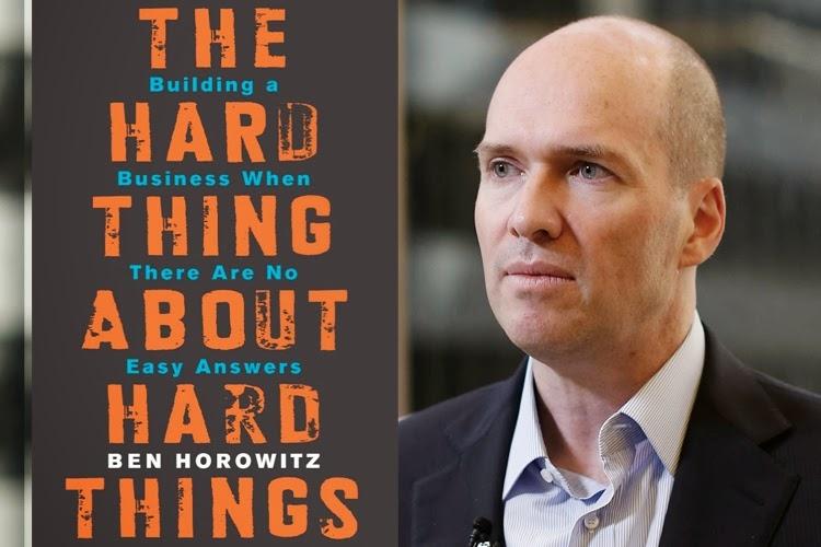 The Hard thing about Hard things (tạm dịch Đáp án khó cho những câu hỏi khó)