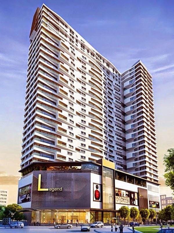 Hình ảnh của dự án The Legend Tower