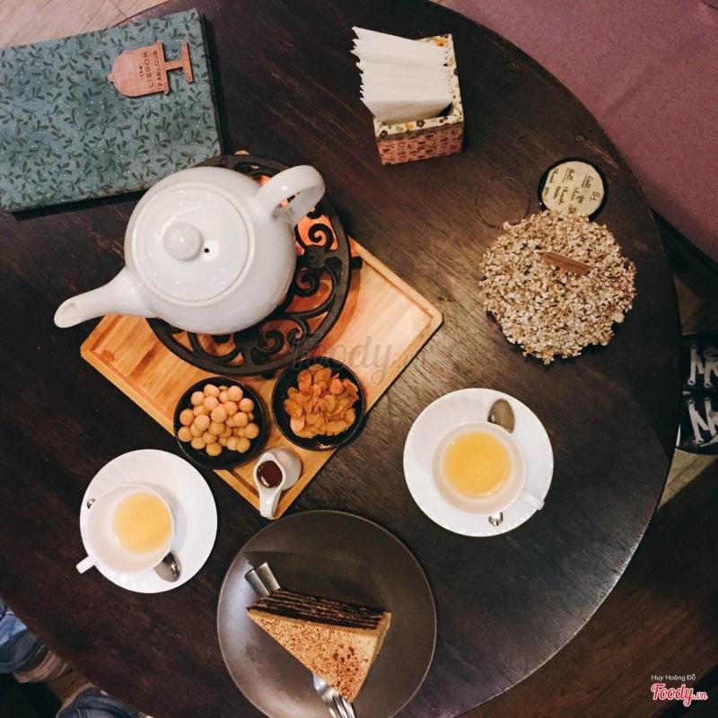 Set trà bánh được check in sang chảnh