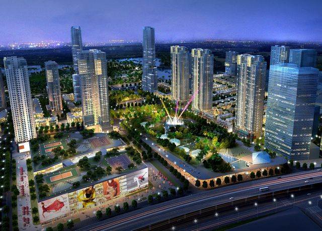 Giá bán căn hộ chung cư tại đây rơi vào khoảng 20 triệu đồng/m2