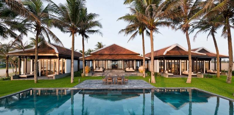 The Nam Hai Resort là một trong những khách sạn 5 sao hàng đầu ở Việt Nam