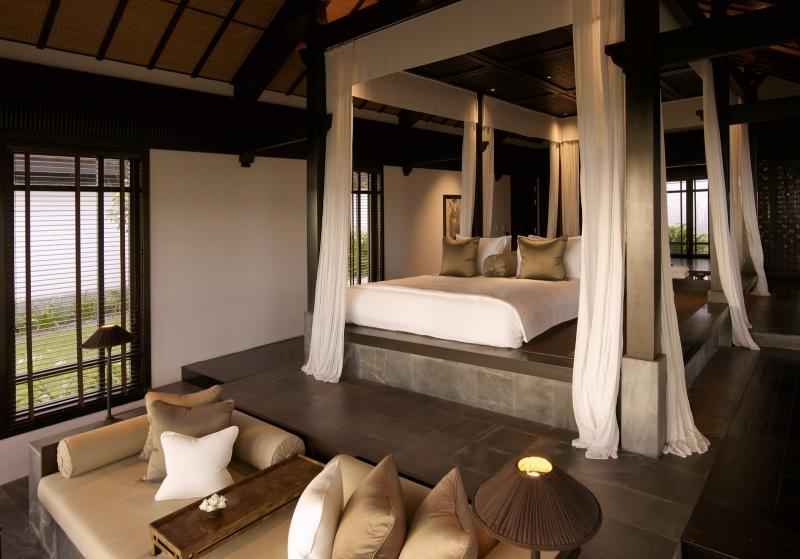The Nam Hai Resort gồm 60 phòng khách sạn dạng biệt thự và khoảng 40 căn biệt thự