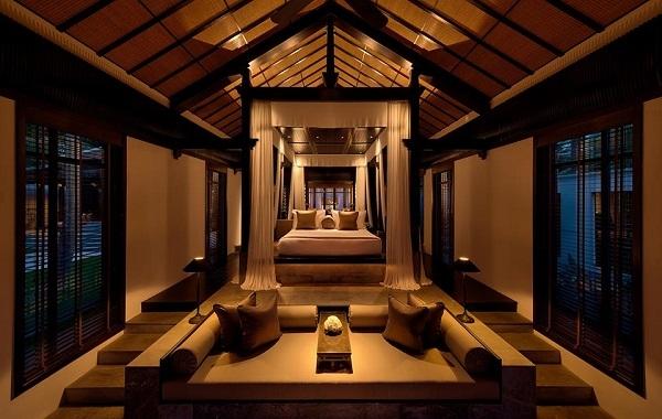 Biệt thự một phòng ngủ được thiết kế tỉ mỉ tinh tế và sang trọng