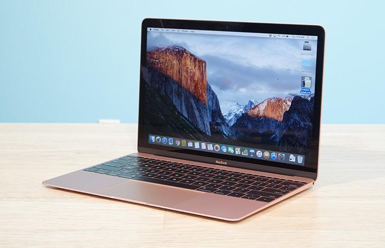 Phiên bản vàng hồng trên The New Macbook 2016