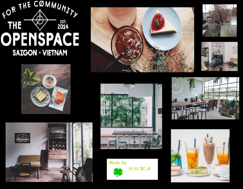 Một số hình ảnh ở The Open Space