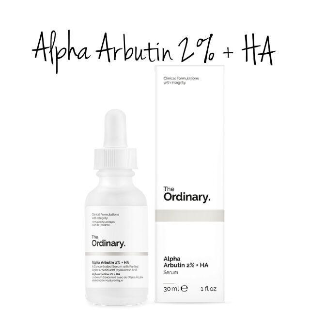 Tinh chất dưỡng trắng da The Ordinary Alpha Arbutin 2% + HA
