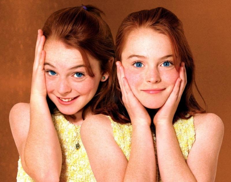 Vai diễn này đã giúp Lindsay Lohan trở nên nổi tiếng.