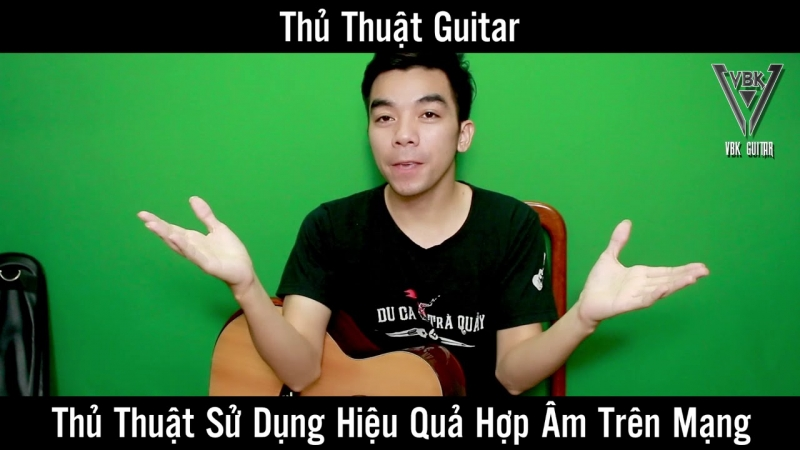 Bạn sẽ nắm được một số thủ thuật hay ho trên guitar với kênh Thế Phương VBK