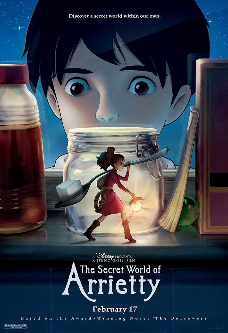Poster phim The Secret World Of Arrietty.