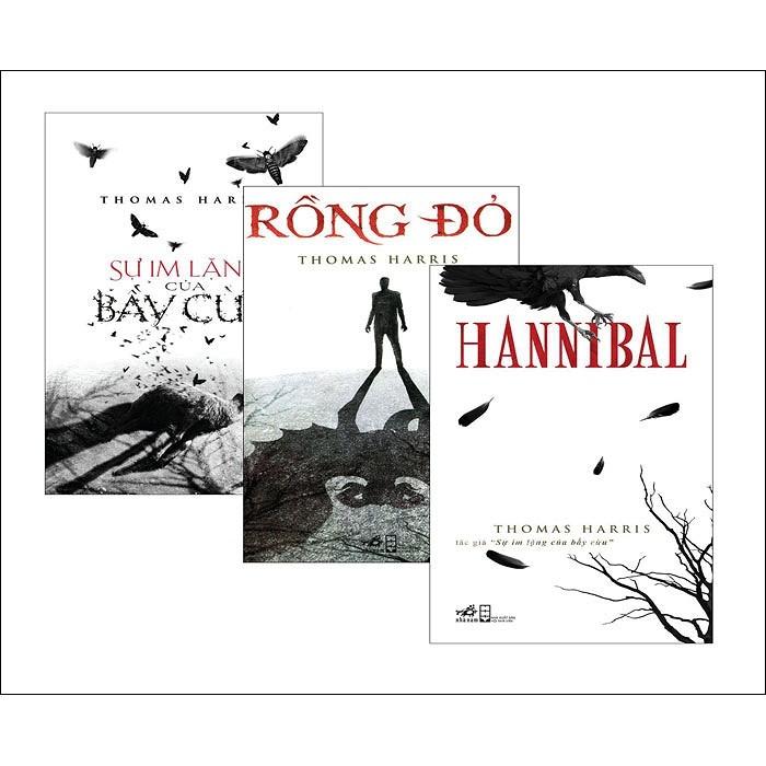 Bộ 3 cuốn sách của Thomas Harris