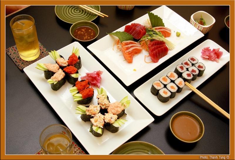 Sushi tại nhà The Sushi Bar - Thiên Huế