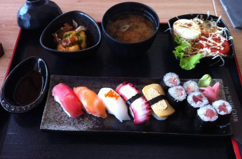 Một phần sushi
